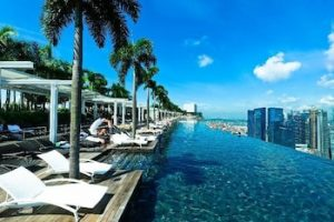 You must see Marina Bay in Singapore.