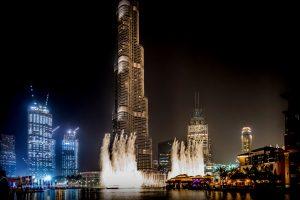 Dubai Mall and Fountains